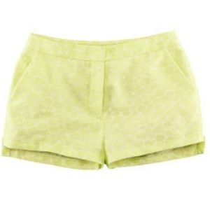 Used, H&M Conscious Collection Lime Green Shorts for sale
